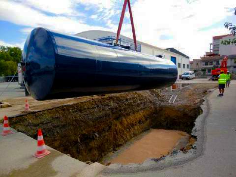 estanque subterraneo combustible