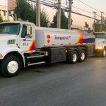 camión combustible